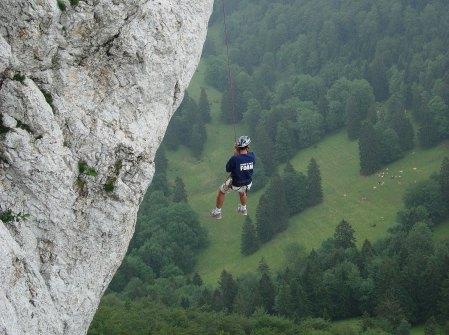 Jura-Wanderung mit Abseilspass