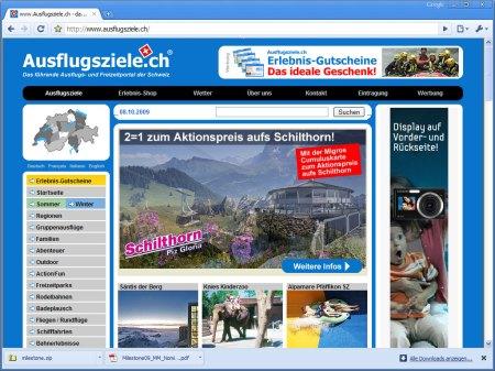 Ausflugsziele.ch - das führende Ausflugs- und Freizeitportal der Schweiz
