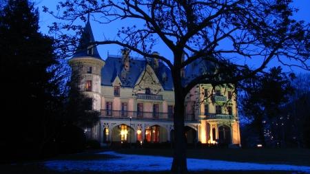 Weihnachtsessen - im Schloss!