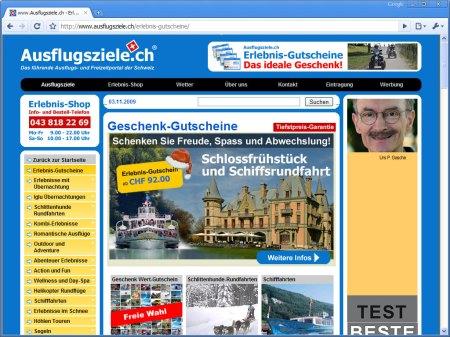 Ausflugsziele.ch Erlebnis-Gutscheine