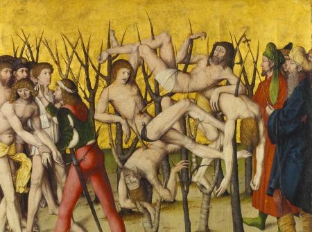 Altartafel aus Zürich um 1509. © Schweizerisches Nationalmuseum