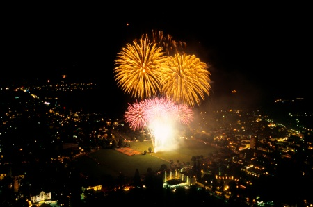 Interlaken feiert den längsten Silvester der Schweiz