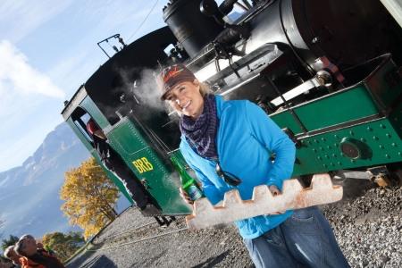 Tanja Frieden hat das Dampfwürstlibummler-Fieber gepackt!