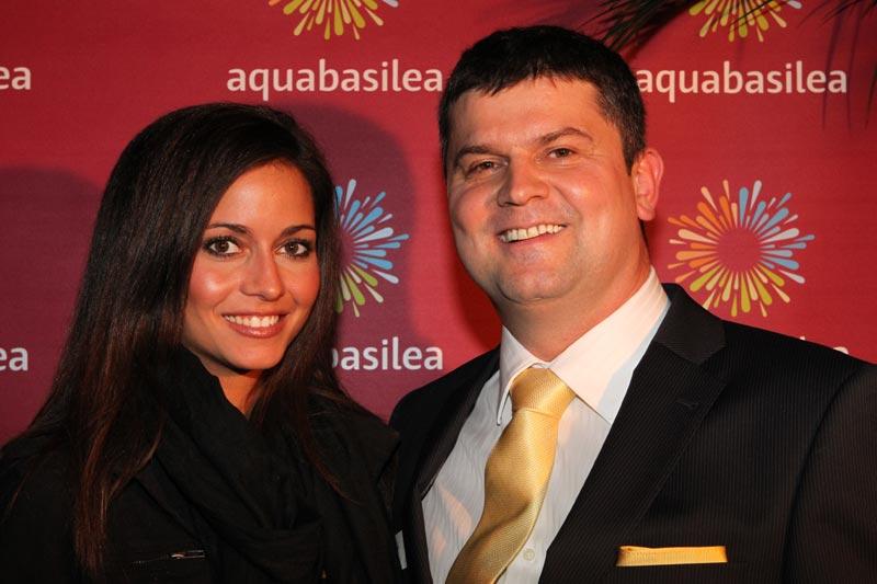 Nadine Vinzens und Andreas Schauer  Geschäftsführer aquabasilea AG