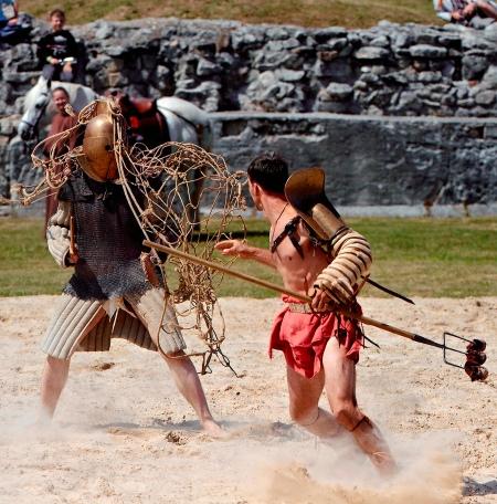 Kampf der Gladiatoren