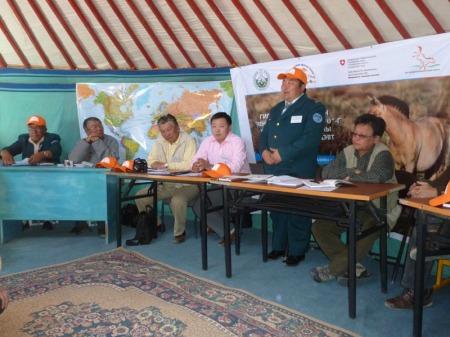 Konferenz in der Mongolei