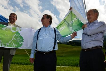 Bundesrat Schneider-Ammann lobt Mut der Parc Ela-Region