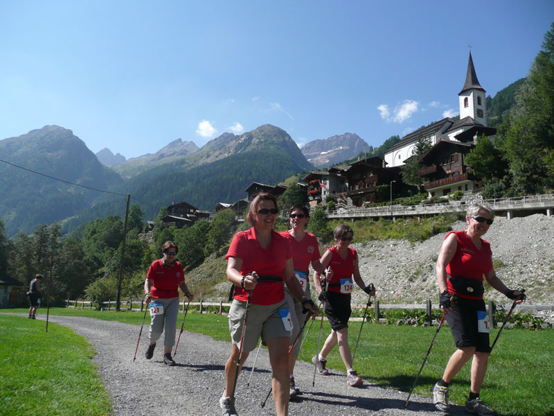 Nordic Walking & Fitness Event im Lötschental