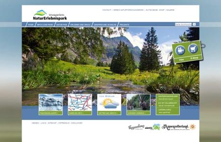 Neuer Internetauftritt des NaturErlebnisparks