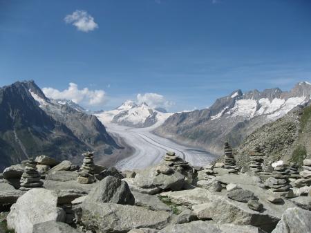 """""""Aletschgletscher"""" das Gewinner-Foto von Heidi Falconnier - Aletschgletscher – Kraftort und Oase der Ruhe und Erholung"""
