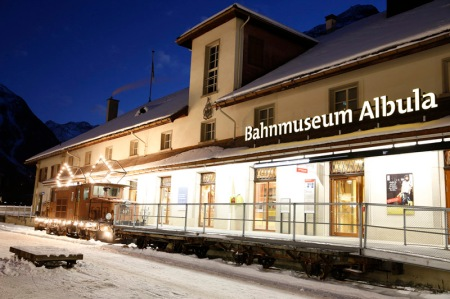 Bahnmuseum Albula nominiert für den European Museum of the Year Award 2014
