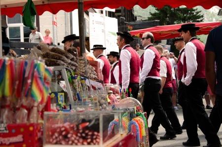 Prachtwetter und stimmungsvolle Vorträge am Westschweizer Jodlerfest