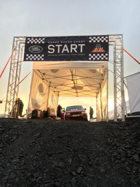 Medienmitteilung Schilthornbahn AG: Range Rover Sport - Inferno Downhill Challenge am Schilthorn