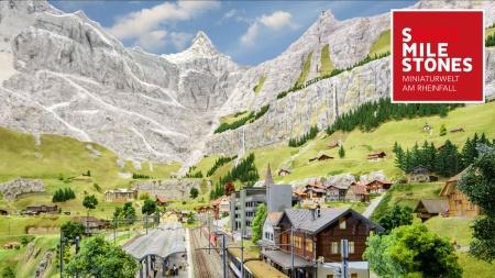 Smilestones – die Miniaturwelt am Rheinfall wächst weiter